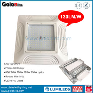 130lm/W High Lumen LED Gas Station Canopy Lights LED Petrol Station Light 120W LED Canopy Lamp pictures & photos