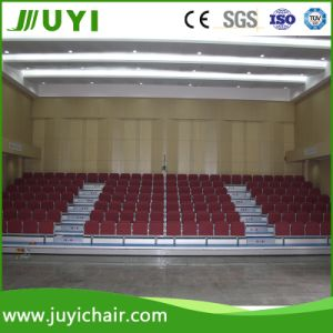 Jy-768r Grandstand Seating System Indoor Bleacher with Matel Leg Fabric Chair pictures & photos