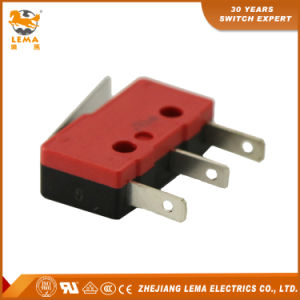 Lema Red and Black 110 Quick Connect Terminal Kw12-1g Micro Switch pictures & photos