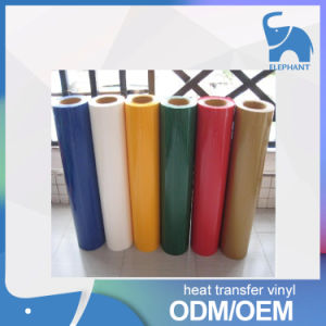 Factory Wholesale Flock Heat Transfer Vinyl PU. pictures & photos