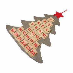 100% Felt Soft Christmas Calendar for Decorations pictures & photos
