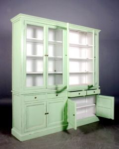 French Style European Wooden Cabinet Living Room Cupboard pictures & photos