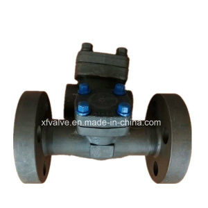 API602 1500lb 2500lb Forged Steel Flange End Piston Check Valve pictures & photos