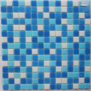 High Quality Foshan Blue Glass Mosaic for Swimming Pool pictures & photos