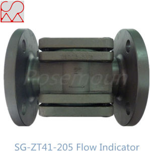 Pipe Fitting Double Windows Flap Oil Sight Flow Indicator in Favorable Price pictures & photos