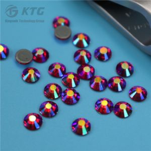 Hot Fix Rhinestones Prices 2mm 3mm 4mm 5mm Jet Hematite Crystals pictures & photos