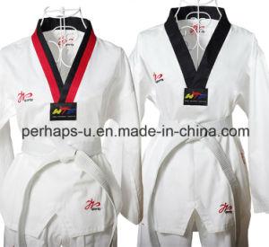 Custom Logo High Quality Taekwondo Clothing Taekwondo Uniform pictures & photos