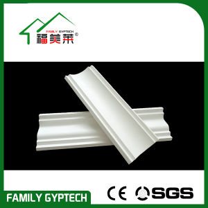 Plaster Cornice Made by Machine, with Natural Gypsum Powder and Reinforced Glass Fiber pictures & photos