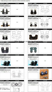 Heavy Duty Auto Air Conditioning Compressor 180cc China Supplier pictures & photos