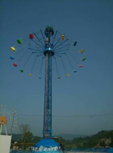 Tourist Attraction Carnival Rides Flying to Sky Tower pictures & photos