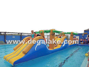 Inflatable Amazon Water Game, Floating Water Game for Big Water Pool