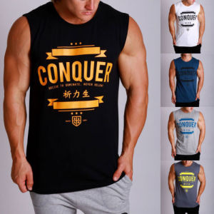 2017 Wholesale Fashion Bodybuilding Stringer Singlet/Tank Top (A826) pictures & photos
