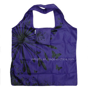 Wholesale Supermarket Foldable Nylon Shopping Bag pictures & photos