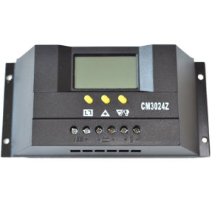 30A Solar Charger Controller/Regulator 12V 24V for PV System with LCD Display Cm3024 pictures & photos