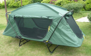 Outdoor Camping Folding Queen Size Bed Tent pictures & photos