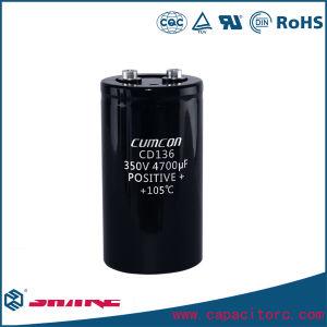 450V 10000UF Screw Terminal Aluminum Electrolytic Capacitor pictures & photos