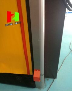 Reset Zipper Door Self Repairing High Speed PVC Industrial Roll up Fast Rolling Door (ZH-SR05) pictures & photos