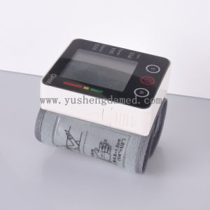 Homecare Hospital Equipment Wrist Type Blood Pressure Monitor Ysd732 pictures & photos