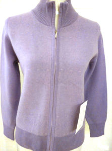 Ladies′ Cashmere Cardigan Cashmere Cardigan Knitwear Fashion Women Garment pictures & photos