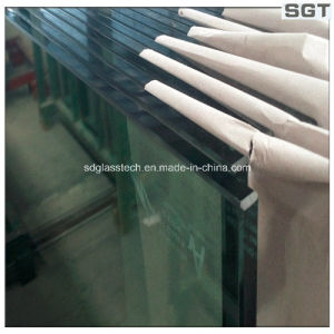 12mm Cleat Float Glass, Tempered Glass with 4*12mm Hole pictures & photos
