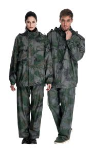 Raincoat Camo Overall Suit pictures & photos