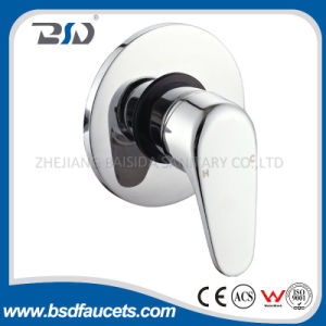 Single Handle Chrome Plated Brass Manual Concealed Shower Mixer Valve pictures & photos