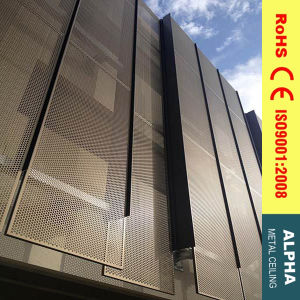 Aluminum Exterior Customized Perforated Solid Panel Facades and Claddings pictures & photos