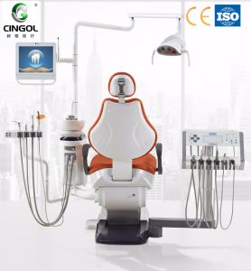 2017 Touch Sense Instrument Tray Dental Chair pictures & photos