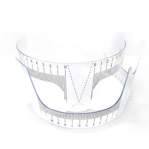 Plastic Eyebrow Shaping Tools Eyebrow Ruler pictures & photos