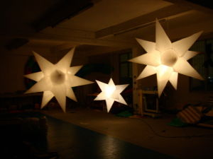 LED Inflatable Lighting Star Decoration for Event pictures & photos