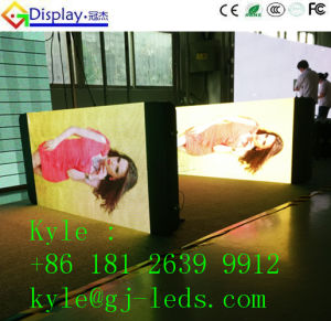 G-Top LAN/WiFi/3G Supply Mobile Phone Seller Fashion Advertising LED Display in Smart Phone Design