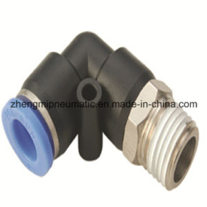 Pneumatic Air Fitting Run Tee for PU&PA Hose (Metric Size-R(PT) Thread Type) pictures & photos