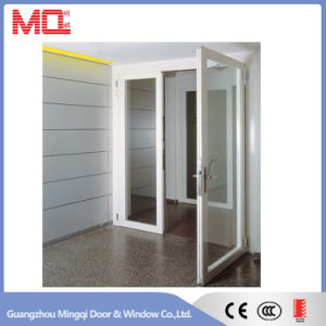 Aluminum Double Swing Glass Door pictures & photos