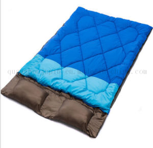 OEM Warm Double Water Proof Outdoor Camp Sleeping Bag pictures & photos