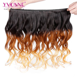 New Arrival Ombre Peruvian Hair Weave Three Tone Human Hair pictures & photos