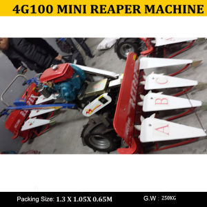 Hand-Held Mini Wheat and Rice Harvester 4G100 / Reaper Wheat Cutter Mini Harvester 4G100 pictures & photos