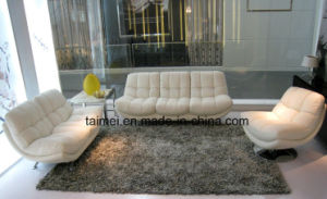 Best Selling Italy Fashion Genuine Leather Sofa (1+2+3) pictures & photos