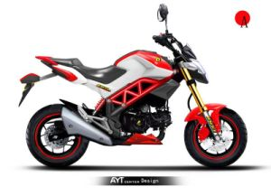 110cc Beast Motorcycles Motorbikes (HD110-6D)