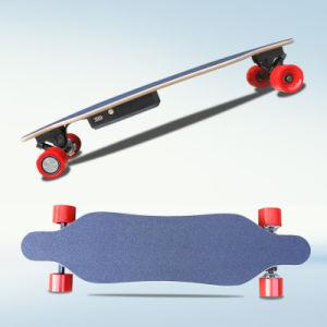 Wholesale Belt Motor 4 Wheels Electric Mini Longboard Skateboard
