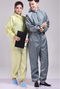 Anti Static ESD Cleanroom Coverall Smock Jacket pictures & photos