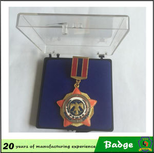 3D Multiple Layers Military Star Pin Badge Custom pictures & photos