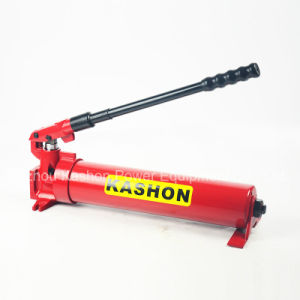 Single Acting Two Speed Steel Hydraulic Hand Manual Pump pictures & photos