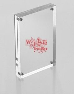 Customize Ad-140 Magnetic Clear Acrylic Photo Frame pictures & photos