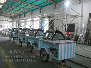 Italian Ice Cream Trolleys / Gelato Carts (CE Approved) pictures & photos