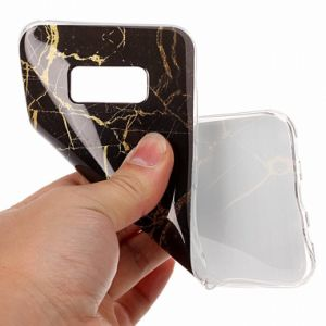Marble Gold Flexible Slim Shockproof Soft TPU Rubber Skin Cover for Samsung Galaxy S8 pictures & photos