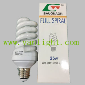 High Power Efficiency T3 Full Spiral CFL 25W Energey Save Lamp
