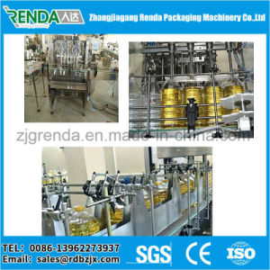 Linear Type Bottled Edible Oil Filling Machine pictures & photos