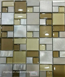Glass Mosaic Mix with Metal Jy43k pictures & photos