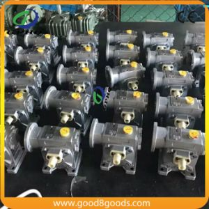 Wd Output Solid Shaft Worm Speed Reduction Gearbox pictures & photos