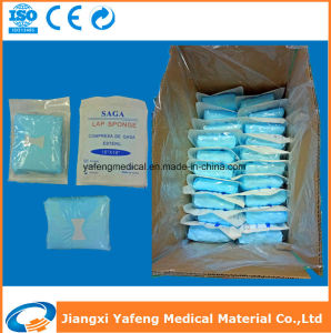 Pre-Washed No Stimulate Gauze Abdominal Swabs for Hospital Use pictures & photos